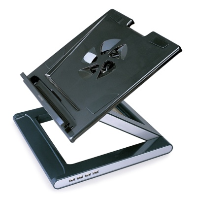 ACTTO/엑토 노트북 스탠드 USB허브(4포트) NBS-07H