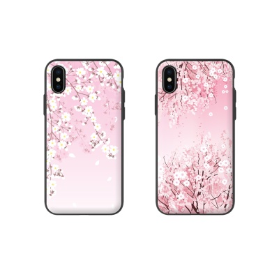 [노트8/N950] 벚꽃 마그네틱 자석 도어 범퍼케이스