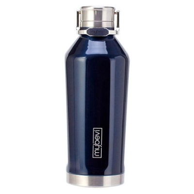 마이베베 보온보냉 텀블러 세련된디자인 블루 530ml