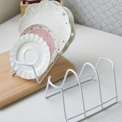AUX 접시홀더 소+대 2P 세트 식기 정리대 주방 받침