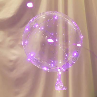 버블풍선+30P전구세트 (핑크)