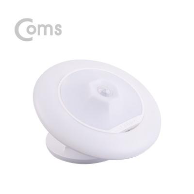 LED 동작감지 센서 원형 램프 옐로우 LCBB576