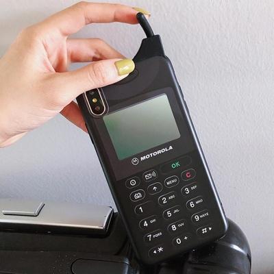 아이폰 11 프로 맥스/입체 전화기 실리콘 케이스