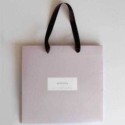 발렌타인 데이 초콜릿 선물 포장 종이 쇼핑백
