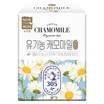 [녹차원]유기농캐모마일허브차 12피라미드백(유기농 100%)