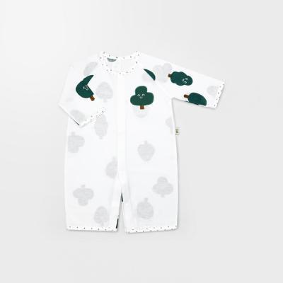 [메르베] 나무친구들 신생아 7부 우주복/북유럽아기옷