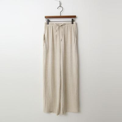 Linen Easy Wide Pants