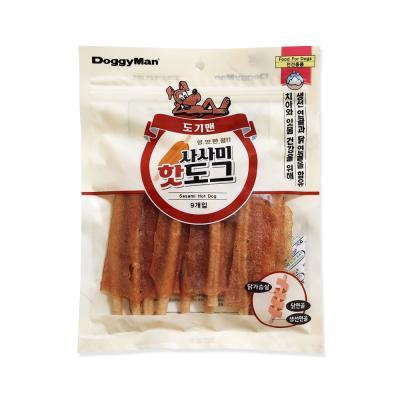 도기맨 영양만점 사사미 핫도그 10P 강아지간식