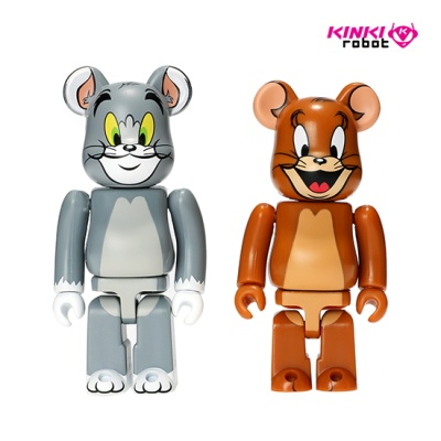 100%BEARBRICK TOM AND JERRY 2PACK (1908002) 1908002