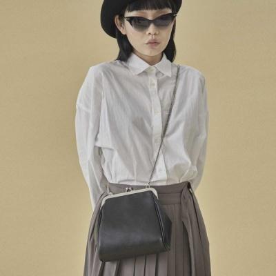 [펀프롬펀]Olsen frame mini bag (black)