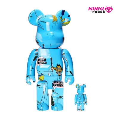 400%+100%BEARBRICK JEAN MICHEL BASQUIAT #4 (19100