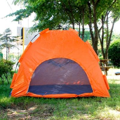 3-4인용 캠핑 나들이 겸용 3단 원터치 텐트