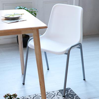 [이노센트플러스] 리브  베누스 스틸 의자(1+1)