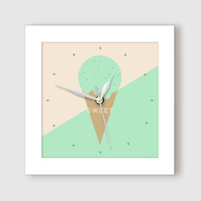 ct912-스위트아이스크림_미니액자벽시계