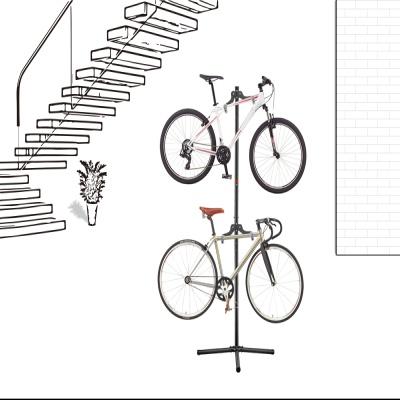 실내 자전거 거치대 직립 스텐드 행어