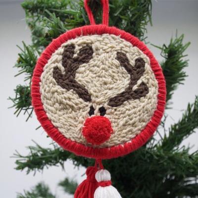 펀치니들 크리스마스 루돌프 DIY 키트