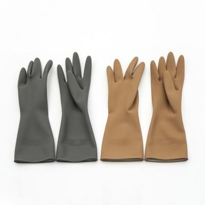 [생활공작소] 라텍스 고무장갑 일반형(33cm) x 3입