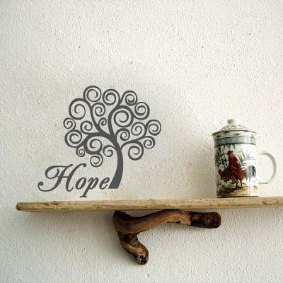 미니레터링 - Hope (소망)