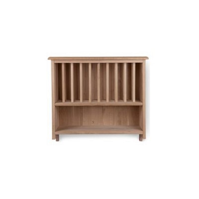 [Garden trading]Hambledon Raw Oak Wall Mounted Plate Rack FUOA09 선반