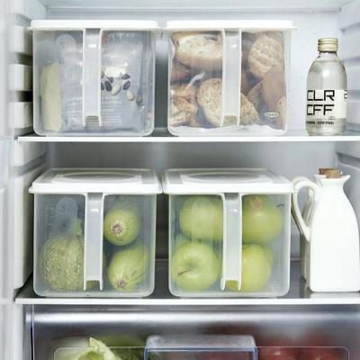 손잡이 냉장고 보관 상자 케이스 정리함