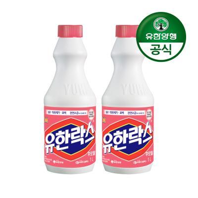 [유한양행]유한락스 후로랄 1L 2개