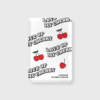 Love cherry-white(무선충전보조배터리)