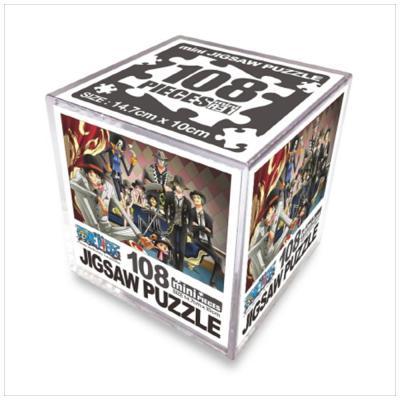 원피스 직소퍼즐 미니 Cube 108pcs: 루피패밀리