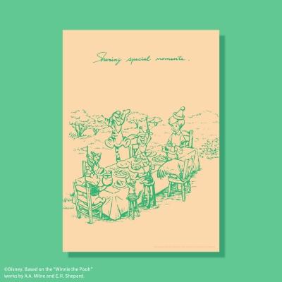 [디즈니] A3 포스터 - 곰돌이 푸 (no.6)
