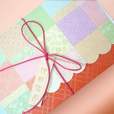 전통문양 추석카드 용돈봉투