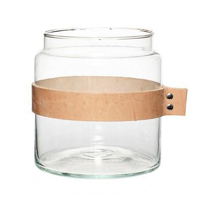 [Hubsch]Vase w leather ribbon 화병379005