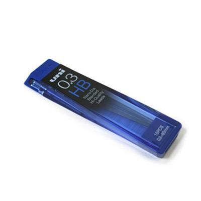 유니 나노 다이아 덜 닳는 샤프심-0.3mm(HB/B)