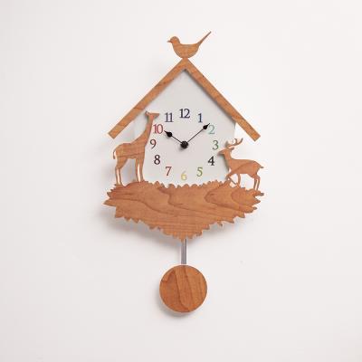 오리엔트 OTNL795 애니멀하우스 인테리어추벽시계
