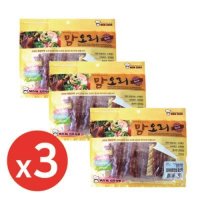 맘쿡(300g) 오리 다이어트안심쌀스틱 x3개 강아지간식