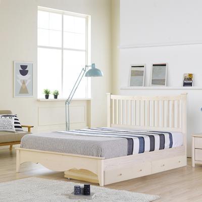 이홈데코 오델리 서랍형 원목 침대프레임(SS)