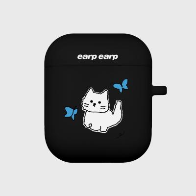 Awesome cat-black(Air pods)