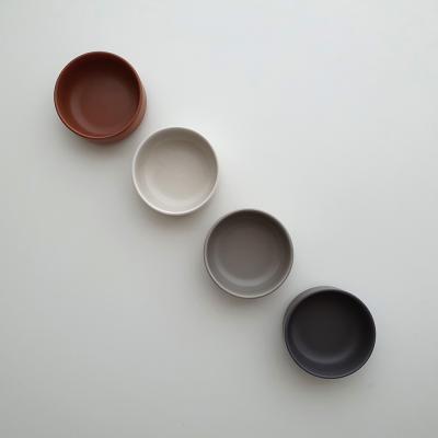 포홈 모던무광 찬기1호 그릇 (4color)