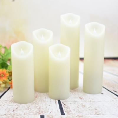 양초 촛불 무드등 수면등 감성조명 취침등 5개 세트