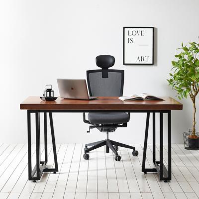 코디 1400x600 우드슬랩 책상 원목 테이블