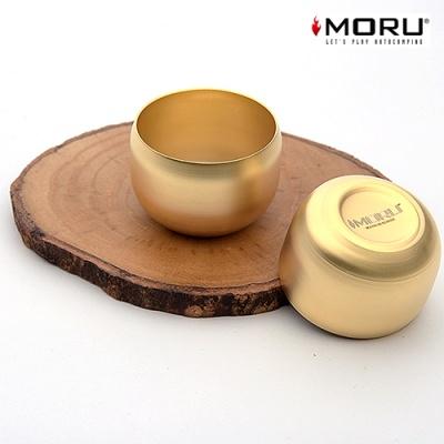 [MORU] 모루 24K 무광 황금 소주잔 1P