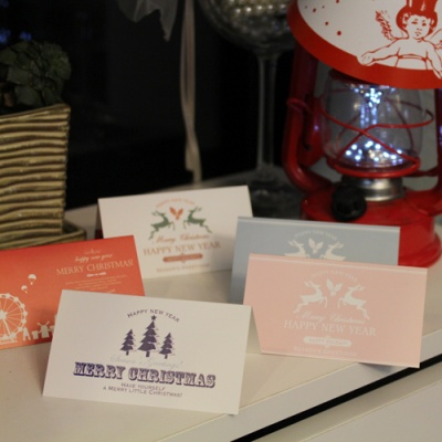 아이씨엘 크리스마스 카드-winter 10세트
