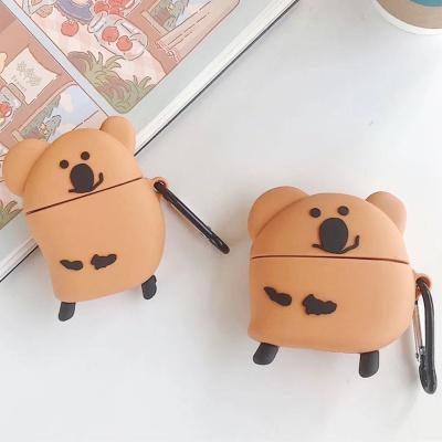 에어팟프로/2/3세대 쿠키베어 곰돌이캐릭터 커플 실리