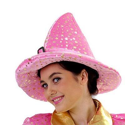 리틀스타 마법사모자-핑크
