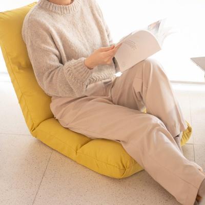 접이식 등받이 쿠션 체어 좌식 의자 2컬러