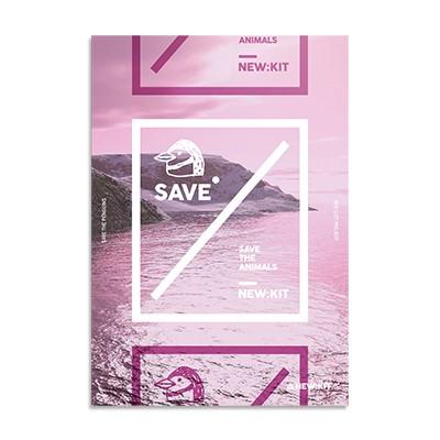 멸종위기동물 알림 노트 - SAVE