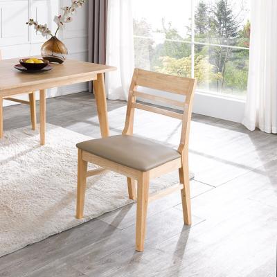 덴코2 1인 원목 의자