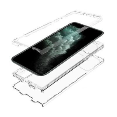 뮤즈캔 아이폰11프로 360도 풀커버 탱크방탄 케이스