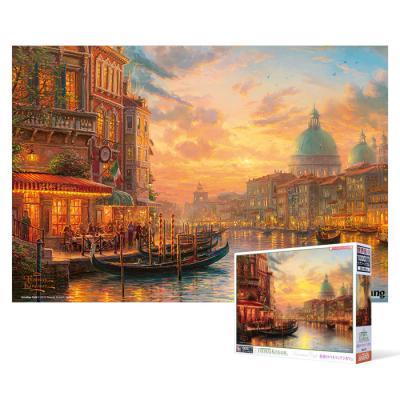 1000피스 직소퍼즐 - 황혼이 스며든 베네치아(초미니)