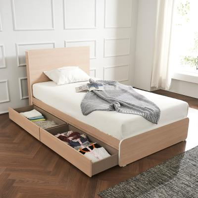 라우엔 호텔식 수납서랍형 침대SS+독립 매트리스