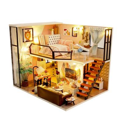 DIY 미니어처하우스 월넛 우드 하우스