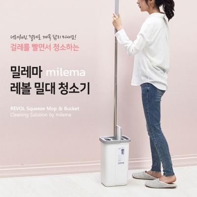 [2HOT] 밀레마 레볼 스퀴즈맙 밀대 청소기